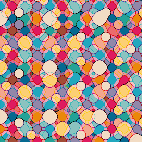 Buttons fabric by cassiopee on Spoonflower - custom fabric