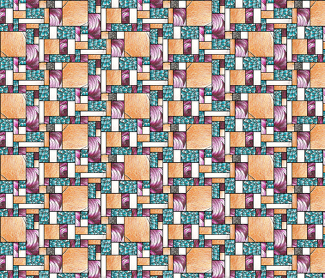 Calíope y Algodón fabric by siya on Spoonflower - custom fabric