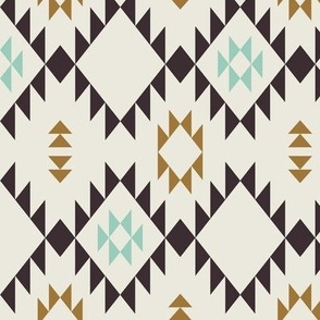 Navajo - Golden Brown Mint (vertical)