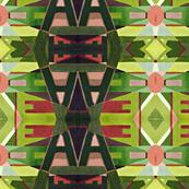 red green blanket design
