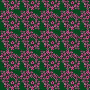 swiss_dots_floral-butterfly- green, pink, black