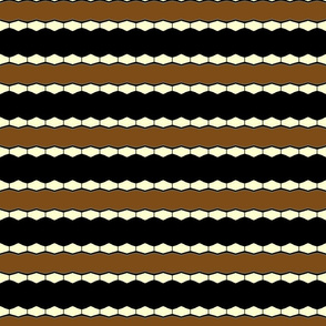 School Days and  Marbles Horizontal Stripe