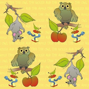 The Owl the Mouse and the Apple Tree