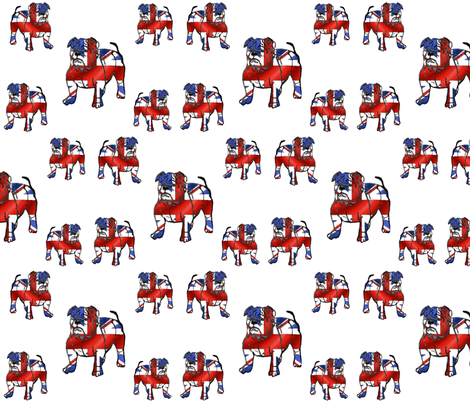 BRITISH_BULLDOGS fabric by bluevelvet on Spoonflower - custom fabric
