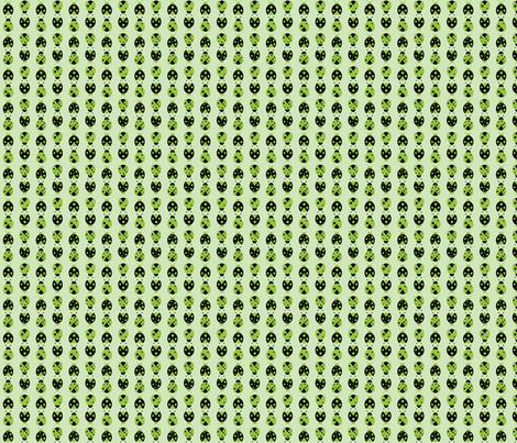 green ladybugs