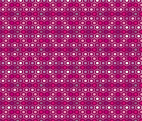 pencils_purple fabric by smuk on Spoonflower - custom fabric