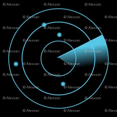 Radar blue
