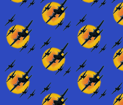 Hercules! by Su_G fabric by su_g on Spoonflower - custom fabric