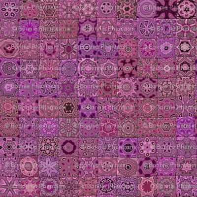 Quilt - Floral - Pink