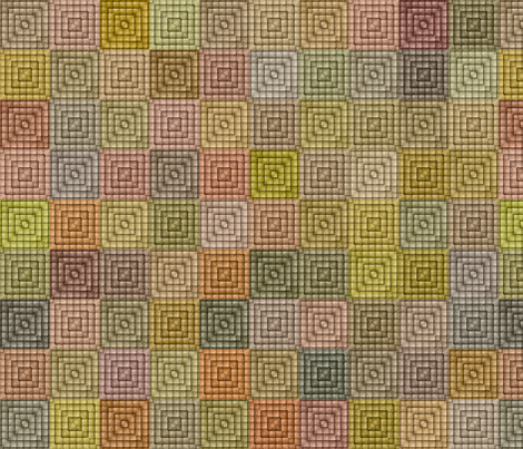 Quilt - Square - Beige fabric by bonnie_phantasm on Spoonflower - custom fabric