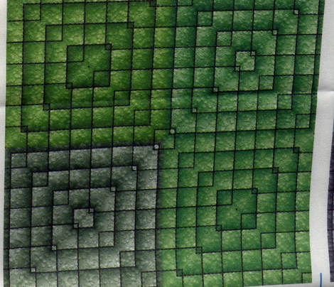 Quilt - Square - Green