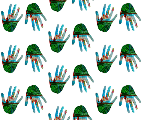 I Need an Extra Hand! fabric by anniedeb on Spoonflower - custom fabric