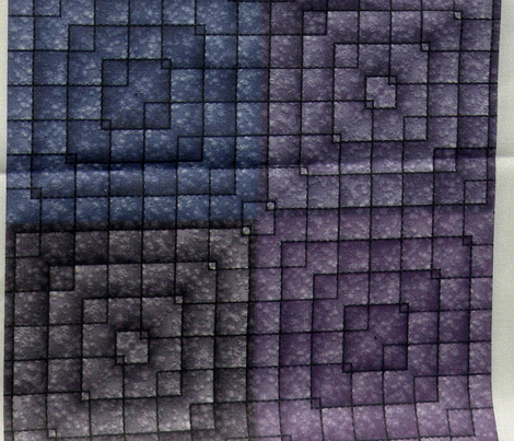 Quilt - Square - Purple