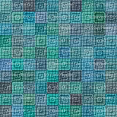 Quilt - Square - Turquoise