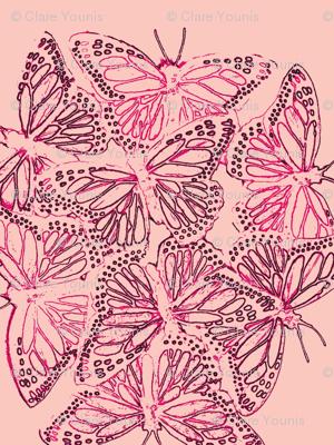 Butterflies Pink 2