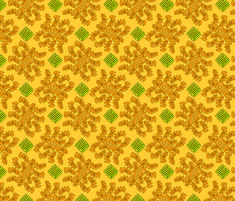 SQUIG CITRUS fabric by glimmericks on Spoonflower - custom fabric