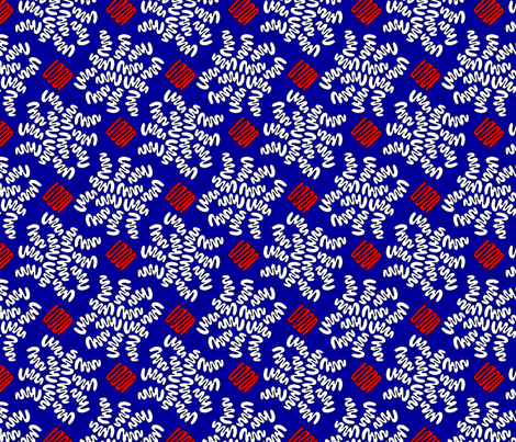 SQUIG RWB fabric by glimmericks on Spoonflower - custom fabric