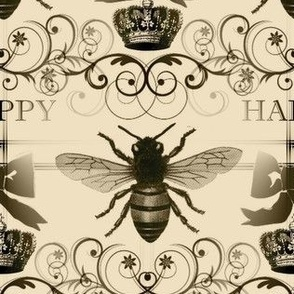 Bee Happy Fabric