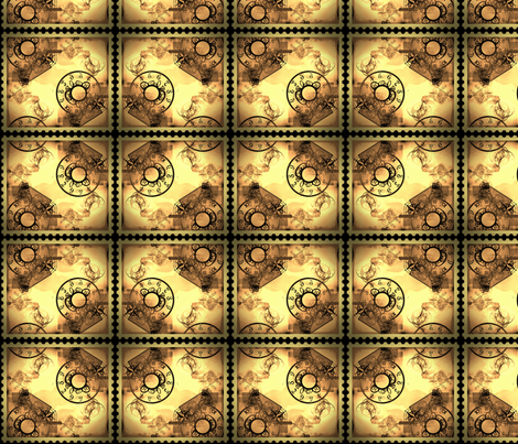 Time & Travel  fabric by briarwood on Spoonflower - custom fabric