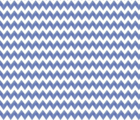 Zig Zag Terrain in Prussian Blue fabric by kbexquisites on Spoonflower - custom fabric