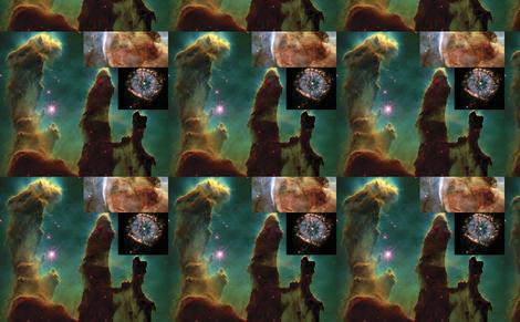 nebulas fabric by craftyscientists on Spoonflower - custom fabric