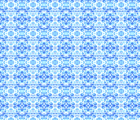 Blue Dye Muscle Tissue fabric by janeffer on Spoonflower - custom fabric