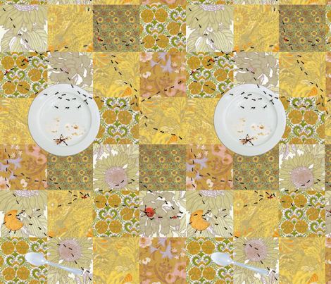 picnic_blanket_cheater_quilt_ants_cleared_it_all fabric by johanna_design on Spoonflower - custom fabric