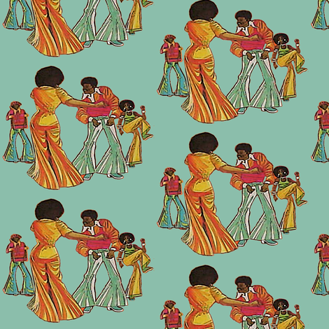 cool groove fabric by nalo_hopkinson on Spoonflower - custom fabric