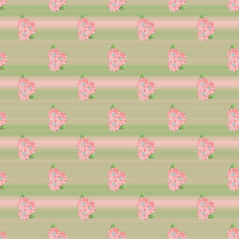 3daisies_small fabric by anino on Spoonflower - custom fabric