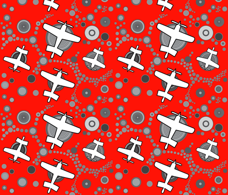 Aviation_1 fabric by isabella_asratyan on Spoonflower - custom fabric