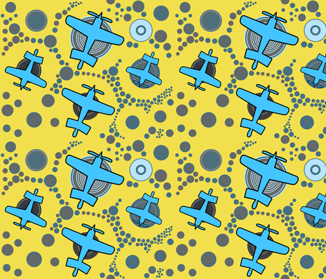 Aviation_3 fabric by isabella_asratyan on Spoonflower - custom fabric