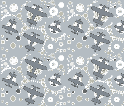 Aviation_4 fabric by isabella_asratyan on Spoonflower - custom fabric