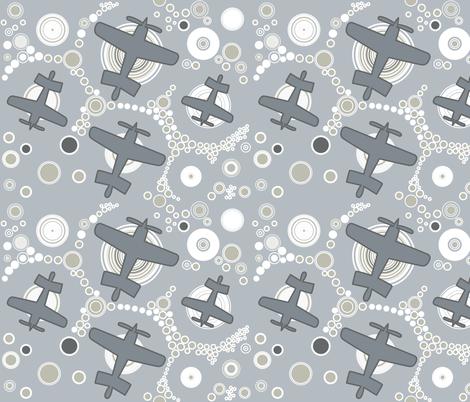 Aviation_4 fabric by isabella_asratyan on Spoonflower - custom fabric