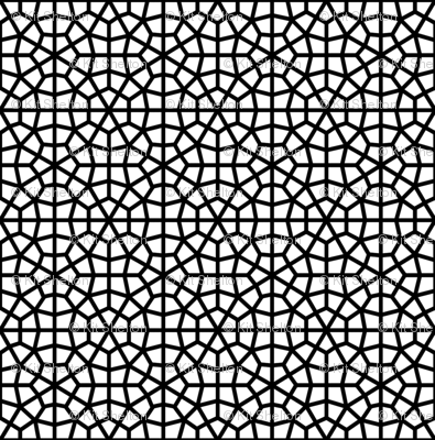 Bold Moorish Lattice