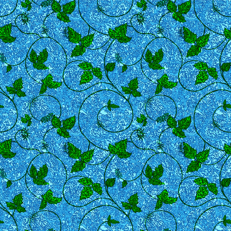leaves of three, LEAVE IT BE! fabric by keweenawchris on Spoonflower - custom fabric