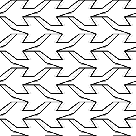 mod plane 1g in 1 fabric by sef on Spoonflower - custom fabric