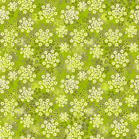 Verbena Green fabric by joanmclemore on Spoonflower - custom fabric