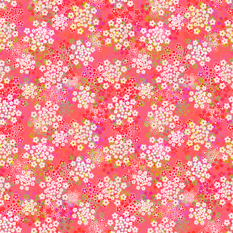 verbena rose fabric by joanmclemore on Spoonflower - custom fabric