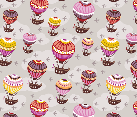 high-flyers fabric by tabula_rosi on Spoonflower - custom fabric