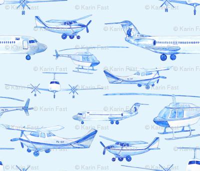 blue planes
