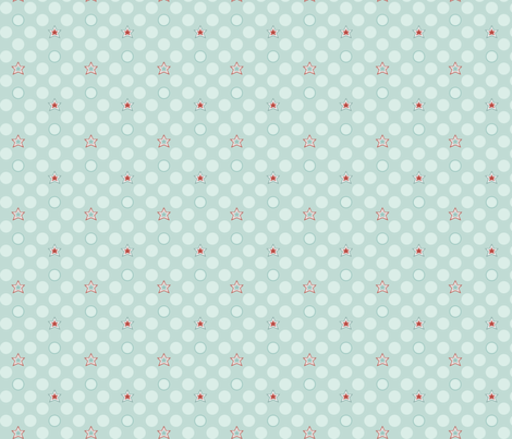 Soaring - StarDot fabric by ttoz on Spoonflower - custom fabric
