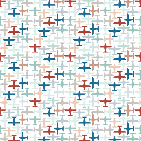 Aviation fabric by ttoz on Spoonflower - custom fabric