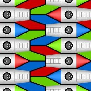 finned rocket 2 - solo x3