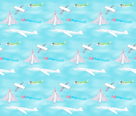 fly fabric by lebemish on Spoonflower - custom fabric