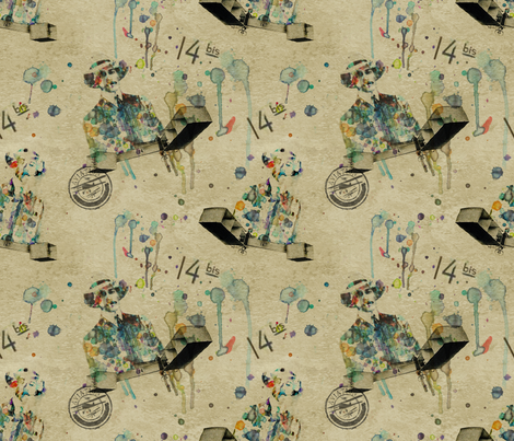 Dumont´s Dreams fabric by isbelo on Spoonflower - custom fabric