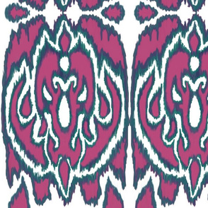 expanded ikat