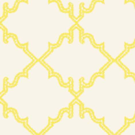 Moroccan Canary fabric by tullia on Spoonflower - custom fabric