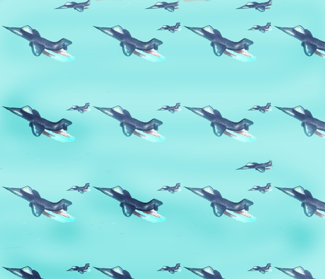 Jetting fabric by chovy on Spoonflower - custom fabric