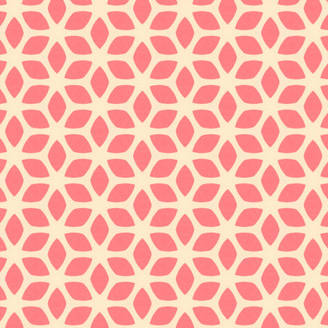 Retro Summer Pink fabric by stoflab on Spoonflower - custom fabric
