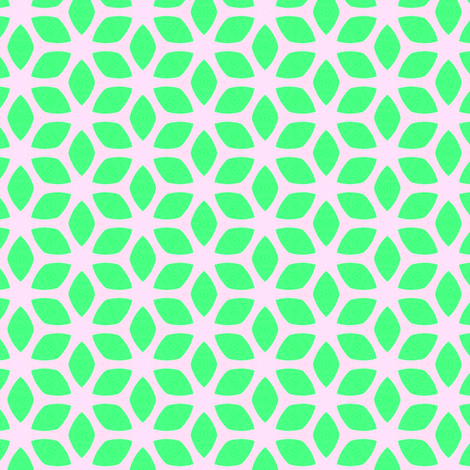 Retro Summer Green fabric by stoflab on Spoonflower - custom fabric